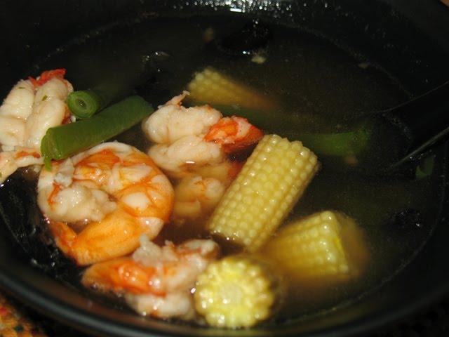 Sopa de pescado asi tica gastrocr nicas - Cocinar pescado congelado ...