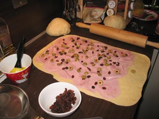 como se hace el pan de jamon navideño